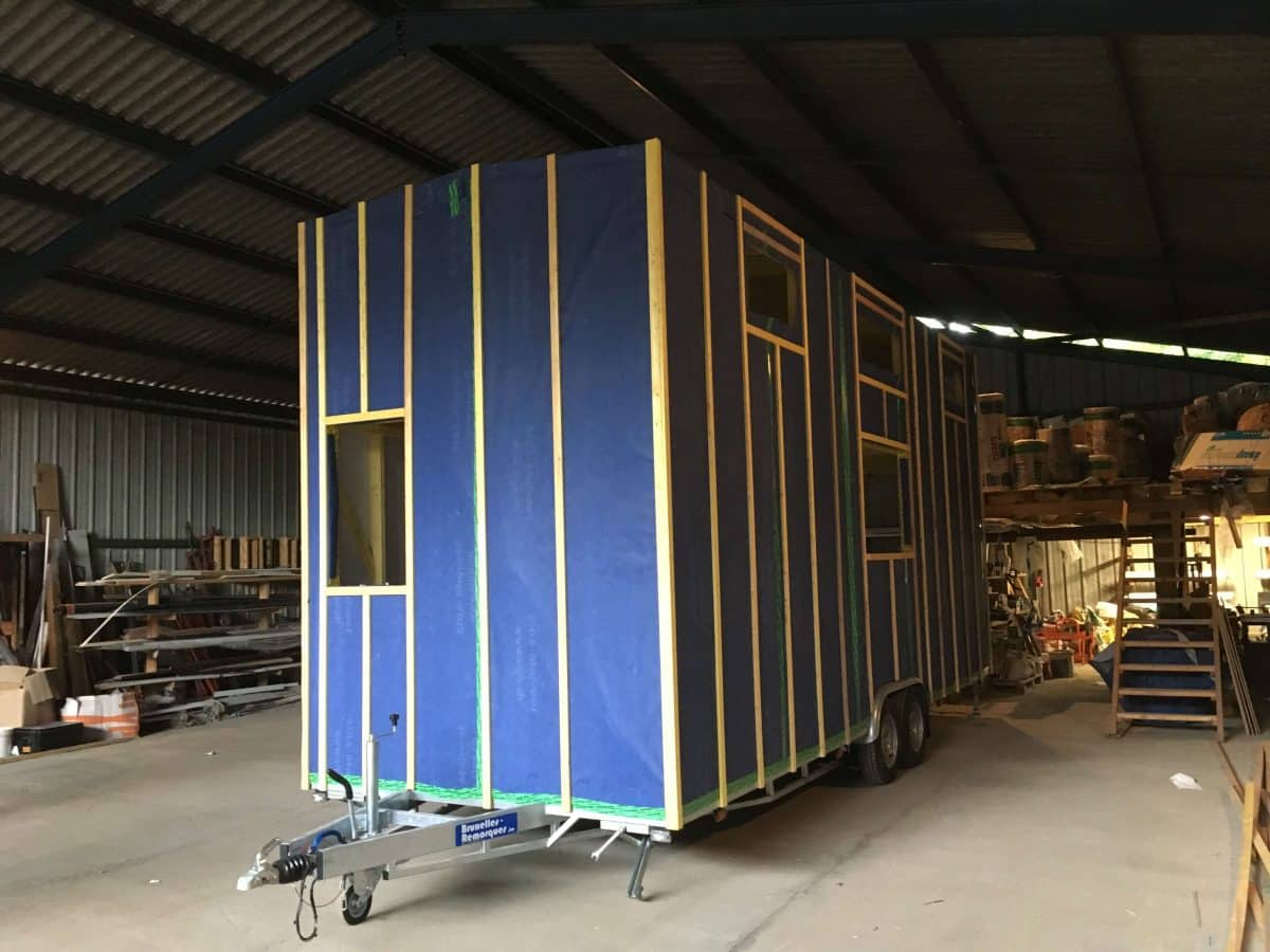 Image Tiny House construction